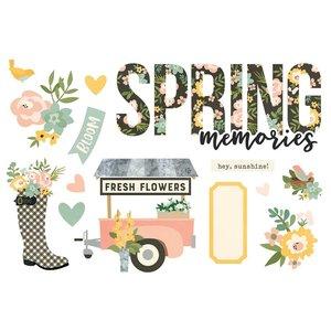 Die Cuts Simple Stories Page Pieces Spring