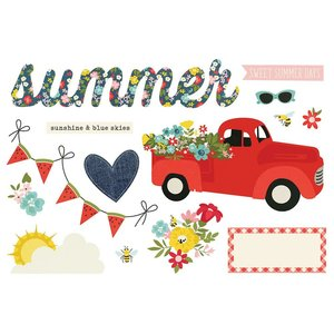Die Cuts Simple Stories Page Pieces Summer