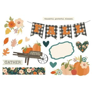 Die Cuts Simple Stories Page Pieces Fall