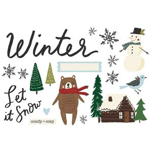 Die Cuts Simple Stories Page Pieces Winter