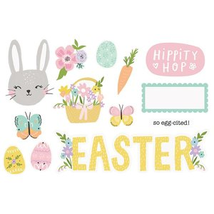 Die Cuts Simple Stories Page Pieces Easter