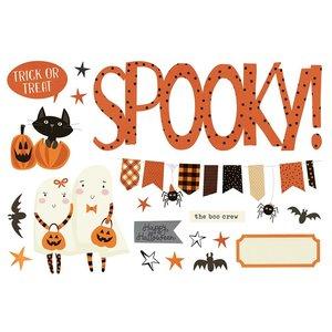 Die Cuts Simple Stories Page Pieces Halloween