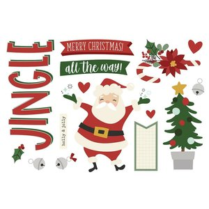 Die Cuts Simple Stories Page Pieces Christmas