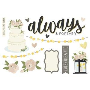 Die Cuts Simple Stories Page Pieces Wedding