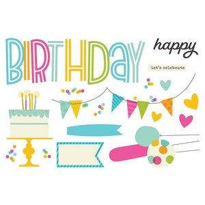 Die Cuts Simple Stories Page Pieces Birthday