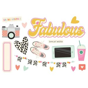 Die Cuts Simple Stories Page Pieces Fabulous