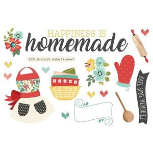 Die Cuts Simple Stories Page Pieces Happiness is Homemade