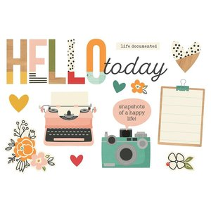 Die Cuts Simple Stories Page Pieces Hello Today
