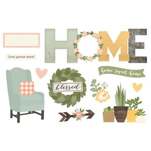 Die Cuts Simple Stories Page Pieces Home