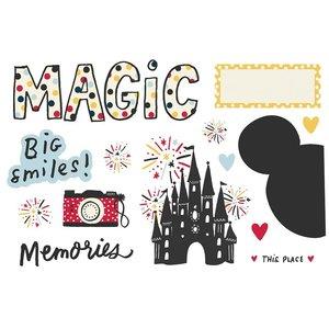 Die Cuts Simple Stories Page Pieces Magic Memories
