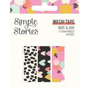 Set Washi Tapes Simple Stories Kate & Ash