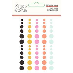 Enamel Dots Simple Stories Kate & Ash