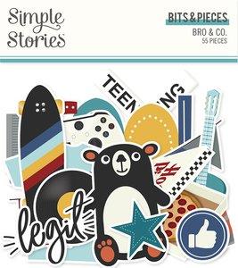 Die Cuts Simple Stories Bro & Co