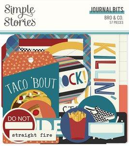 Die Cuts Journal Simple Stories Bro & Co