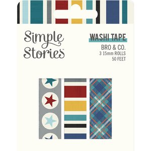 Set Washi Tapes Simple Stories Bro & Co