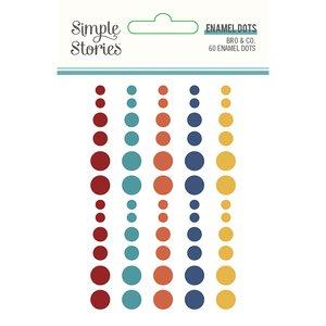 Enamel Dots Simple Stories Bro & Co