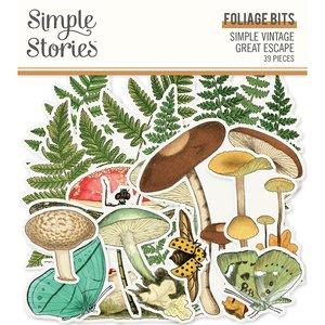 Die Cuts Foliage Simple Vintage Great Escape