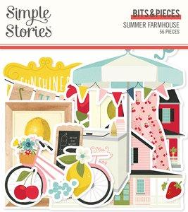 Die Cuts Simple Stories Summer Farmhouse