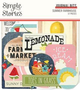Die Cuts Journal Simple Stories Summer Farmhouse