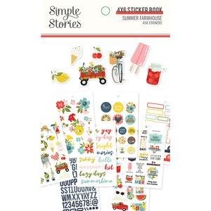 Libreto de pegatinas Simple Stories Summer Farmhouse