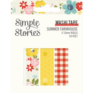 Set Washi Tapes Simple Stories Summer Farmhouse