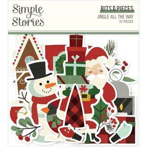 Die Cuts Simple Stories Jingle All The Way