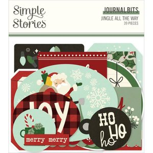 Die Cuts Journal Simple Stories Jingle All The Way