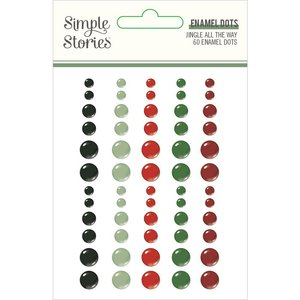 Enamel Dots Simple Stories Jingle All The Way