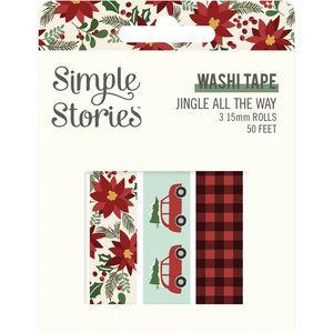 Set Washi Tapes Simple Stories Jingle All The Way