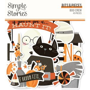 Die Cuts Simple Stories Boo Crew