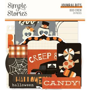 Die Cuts Journal Simple Stories Boo Crew
