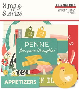Die Cuts Journal Simple Stories Apron Strings