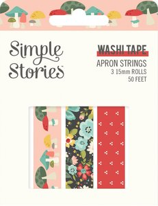 Set Washi Tapes Simple Stories Apron Strings