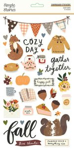 "Chipboard 6x12"" Simple Stories Cozy Days"