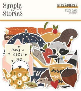 Die Cuts Simple Stories Cozy Days