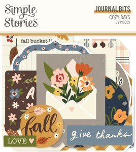 Die Cuts Journal Simple Stories Cozy Days