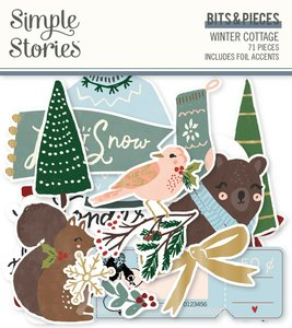 Die Cuts Simple Stories Winter Cottage