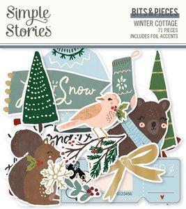 Die Cuts Simple Stories Winter Cottage