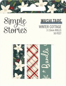 Set Washi Tapes Simple Stories Winter Cottage