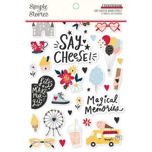 Libreto de pegatinas Simple Stories Say Cheese Main Street