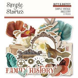 Die Cuts Simple Stories SV Ancestry