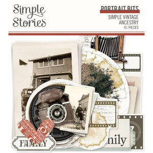 Die Cuts Portrait Simple Stories SV Ancestry