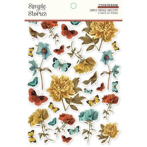 Libreto de pegatinas Simple Stories SV Ancestry