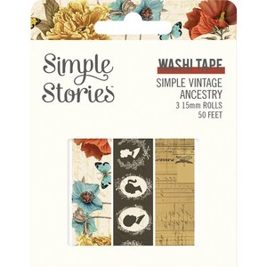Set Washi Tapes Simple Stories SV Ancestry