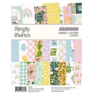 """Pad 6x8"""" Simple Stories Bunnies y Blooms"""