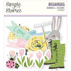 Die Cuts Simple Stories Bunnies y Blooms