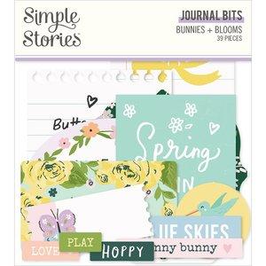 Die Cuts Journal Simple Stories Bunnies y Blooms