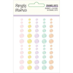 Enamel Dots Simple Stories Bunnies y Blooms