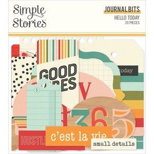 Die Cuts Journal Simple Stories Hello Today