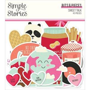 Die Cuts Simple Stories Sweet Talk
